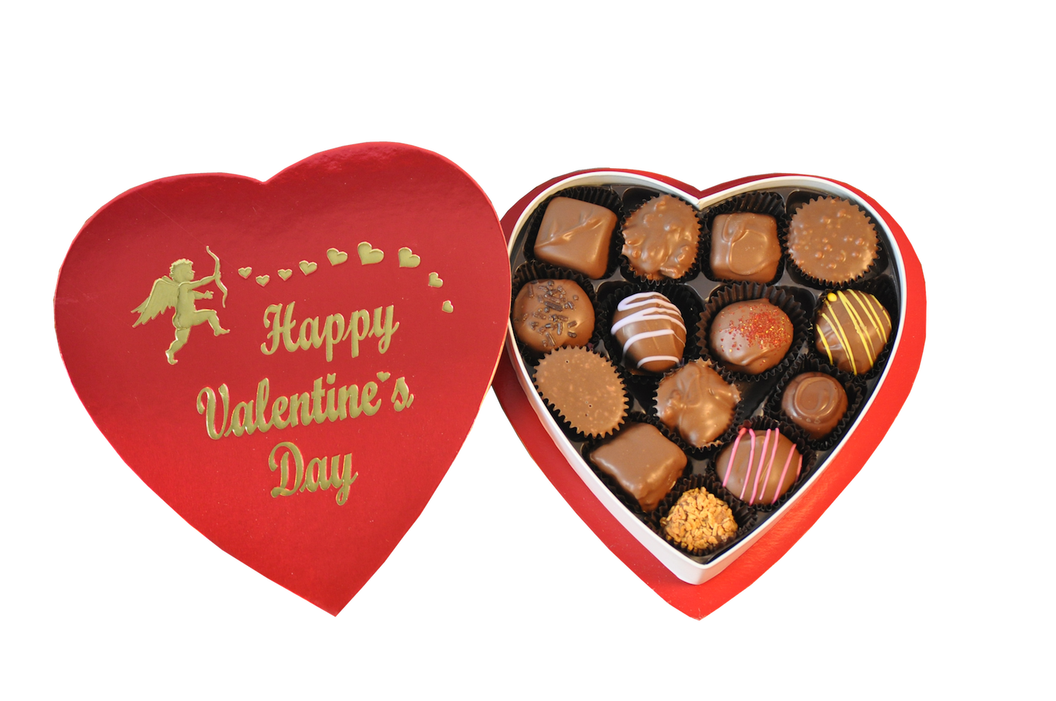 Valentine Heart Box of Chocolates | Mary's Cakery and ...